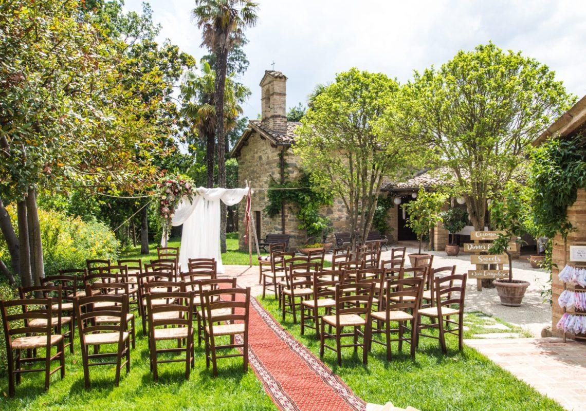 Cerimonia a Villa Teloni - Location per matrimoni