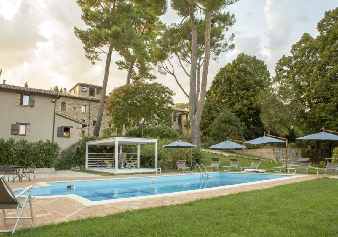 Piscina a Villa Teloni - Location per matrimoni