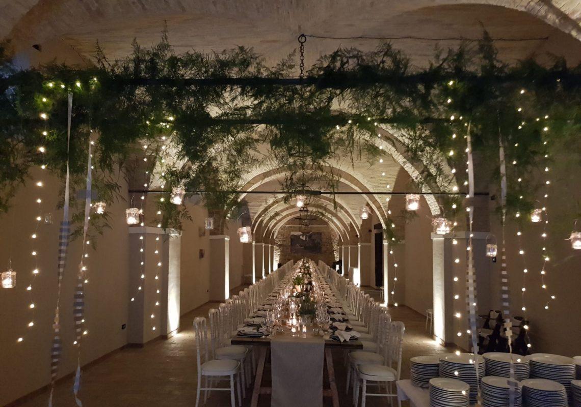Allestimento a Villa Teloni - Location per matrimoni