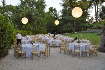 Allestimento matrimonio a Villa Teloni - Location per matrimoni