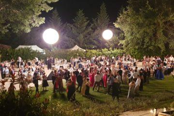 Cerimonia di sera a Villa Teloni - Location per matrimoni