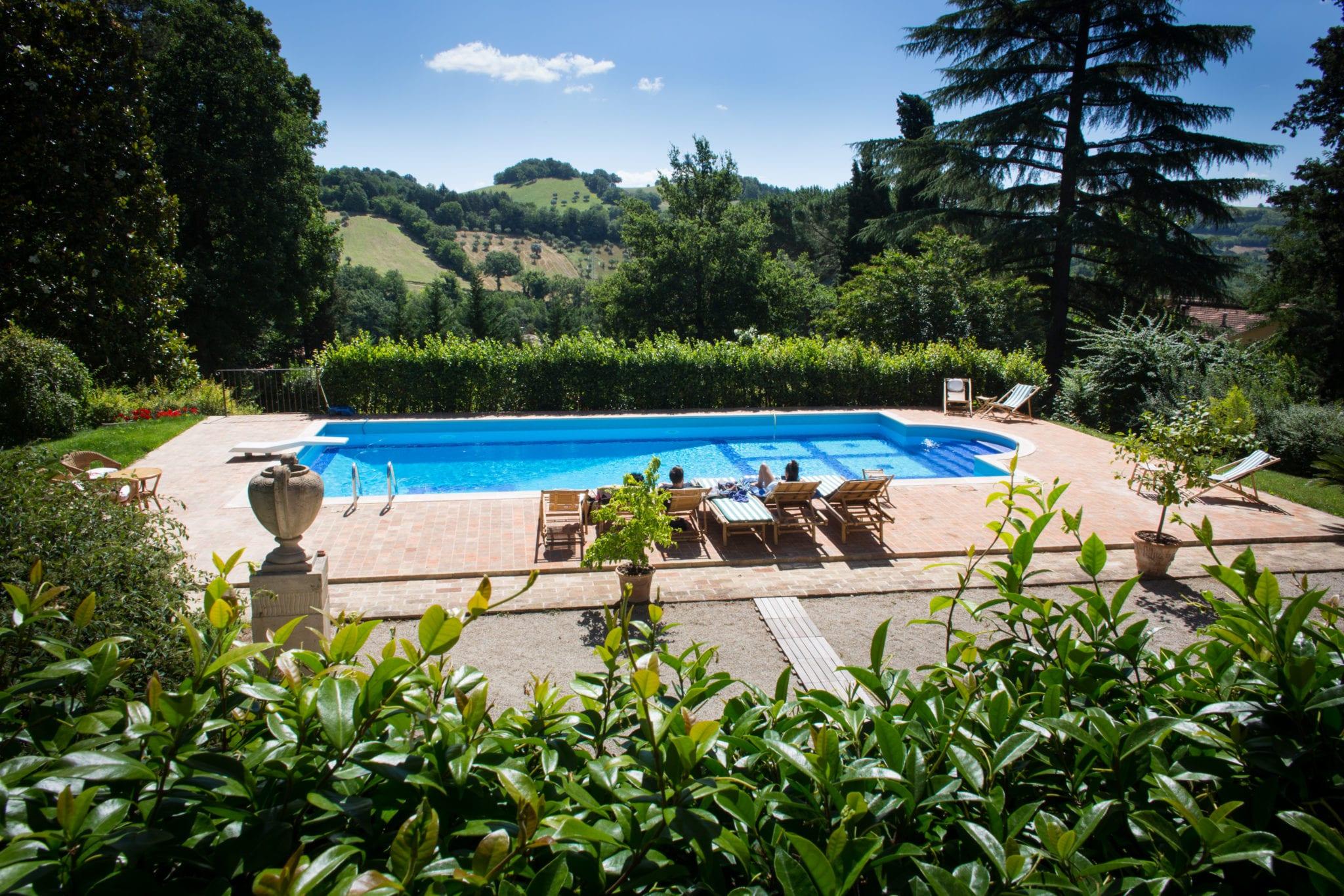 Piscina a Villa Teloni - Location per matrimoni